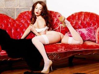 littleredbunny european cam girl fills her holes with huge sex toys on XXX cam