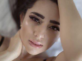 sammypeachex european cam girl fills her holes with huge sex toys on XXX cam
