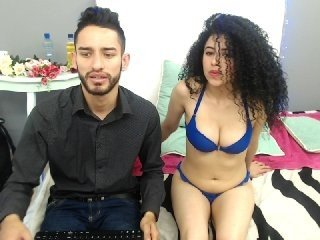 amyandthiago latina cam girl loves beautiful lingerie