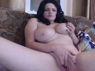 kinkymony naked cam girl loves ohmibod vibration in her tight pussy online